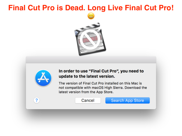 Final Cut Pro Is Dead… | Final Cut Pro X Babbling