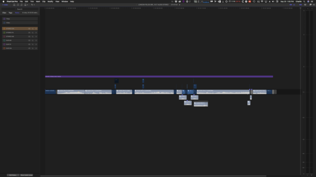 how to slow down a song using final cut pro